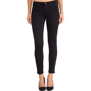 AG The Legging Super Skinny Black Jeans 32